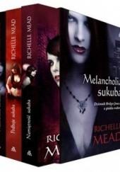 Okładka książki Melancholia sukuba + Namiętność sukuba + Podboje sukuba (komplet) Richelle Mead