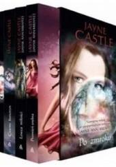 Okładka książki Po zmroku + Czarny bursztyn + Łowca miłości + Promień srebra (komplet) Jayne Castle