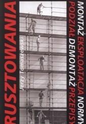 Okładka książki Rusztowania Jerzy Tomaszewski
