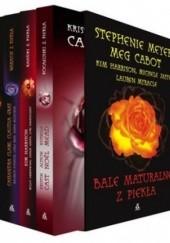 Okładka książki Bale maturalne z piekła + Wakacje z piekła + Randki z piekła + Pocałunki z piekła (komplet) Meg Cabot,Kristin Cast,Stephenie Meyer,Kim Harrison