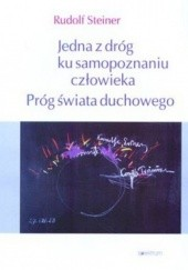 Okładka książki Jedna z dróg ku samopoznaniu człowieka Rudolf Steiner
