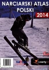 Okładka książki Narciarski atlas Polski 2014