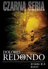 Okładka książki Ofiara dla burzy Dolores Redondo