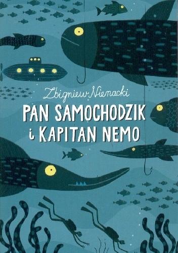 Okładka książki Pan Samochodzik i Kapitan Nemo Zbigniew Nienacki