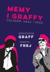 Okładka książki Memy i graffy. Dżender, kasa i seks Agnieszka Graff,Marta Frej