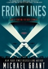 Okładka książki Front Lines Michael Grant