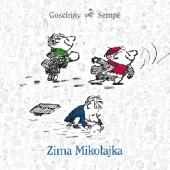 Okładka książki Zima Mikołajka Jean-Jacques Sempé,René Goscinny