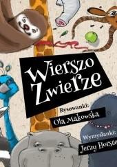 Okładka książki Wierszozwierze Jerzy Horsten