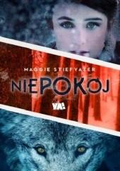 Okładka książki Niepokój Maggie Stiefvater