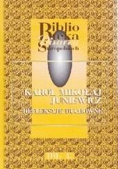 Okładka książki Refleksyje duchowne Karol Mikołaj Juniewicz