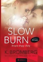 Okładka książki Slow Burn. Kropla drąży skałę K. Bromberg