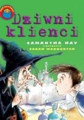 Okładka książki Dziwni klienci Samantha Hay