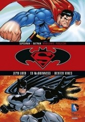 Okładka książki Superman / Batman: Wrogowie publiczni Jeph Loeb,Tim Sale,Ed McGuinness,Dave Stewart,Mark Chiarello,Dexter Vines