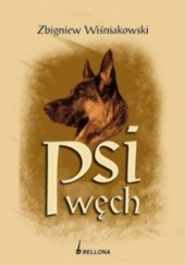 Okładka książki Psi węch Zbigniew Wiśniakowski