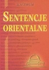 Okładka książki Sentencje orientalne Marek Dubiński