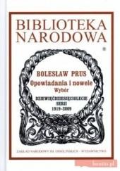 Okładka książki Opowiadania i nowele Bolesław Prus