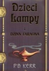 Okładka książki Dzieci lampy i dżinn faraona Philip Kerr