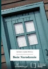 Okładka książki Boże Narodzenie Maria Dąbrowska
