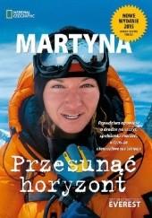 Okładka książki Przesunąć horyzont Martyna Wojciechowska