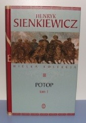 Okładka książki Potop t. I Henryk Sienkiewicz