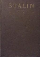 Okładka książki Dzieła T.1 Józef Stalin
