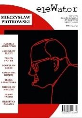 Okładka książki eleWator nr 13 - Mieczysław Piotrowski Adam Wiedemann,Rafał Skonieczny,Szymon Szwarc,Redakcja kwartalnika eleWator