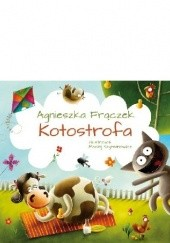 Okładka książki Kotostrofa Agnieszka Frączek