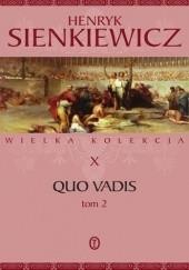 Okładka książki Quo vadis tom 2 Henryk Sienkiewicz