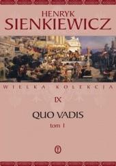 Okładka książki Quo vadis tom 1 Henryk Sienkiewicz
