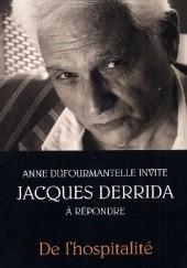 Okładka książki De l'hospitalité Jacques Derrida,Anne Dufourmantelle