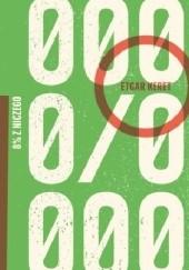 Okładka książki 8% z niczego Etgar Keret