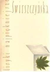 Okładka książki Liryki najpiękniejsze. Świrszczyńska Anna Świrszczyńska