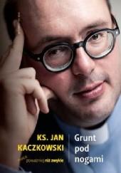 Okładka książki Grunt pod nogami Jan Kaczkowski