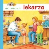 Okładka książki Ania i Maks idą do lekarza Susa Hämmerle