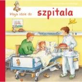 Okładka książki Maja idzie do szpitala Susa Hämmerle