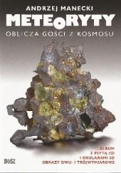 Okładka książki Meteoryty. Oblicza gości z kosmosu Andrzej Manecki