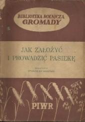 Okładka książki Jak założyć i prowadzć pasiekę Stanisław Brzósko