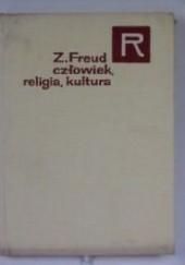 Okładka książki Człowiek, religia, kultura Sigmund Freud