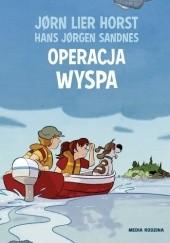 Okładka książki Operacja Wyspa Jørn Lier Horst,Hans Jørgen Sandnes