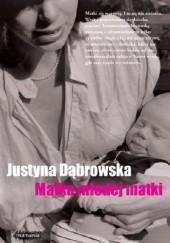 Okładka książki Matka młodej matki Justyna Dąbrowska