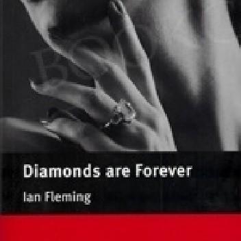 Okładka książki Diamond are forever Ian Fleming