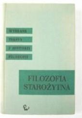 Okładka książki Filozofia starożytna Grecji i Rzymu praca zbiorowa