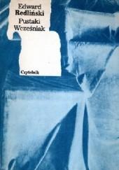 Okładka książki Pustaki. Wcześniak Edward Redliński