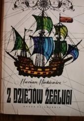 Okładka książki Z dziejów żeglugi Marian Mickiewicz