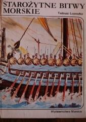 Okładka książki Starożytne bitwy morskie Tadeusz Łoposzko
