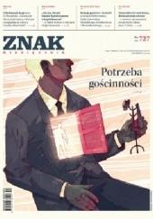 Okładka książki Miesięcznik ZNAK nr 727: Potrzeba gościnności Redakcja Miesięcznika ZNAK