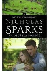 Okładka książki Najdłuższa podróż Nicholas Sparks