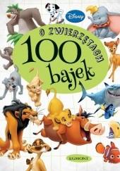 Okładka książki 100 bajek o zwierzętach Walt Disney