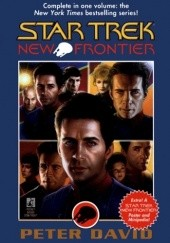 Okładka książki New Frontier Peter David