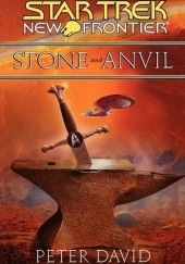 Okładka książki Stone and Anvil Peter David